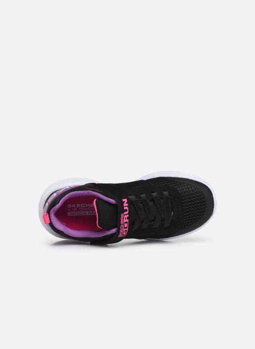 Chaussures de sport Skechers Go Run Fast Noir vue gauche