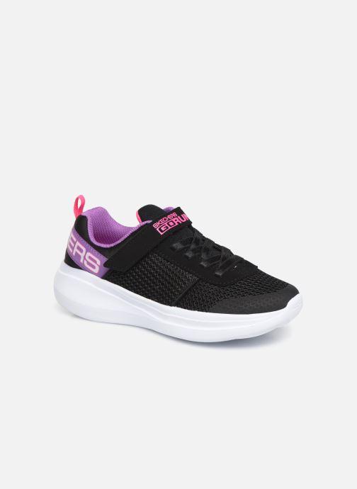 Chaussures de sport Skechers Go Run Fast Noir vue détail/paire