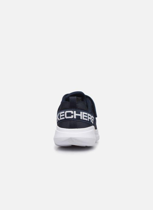 Chaussures de sport Skechers Go Run Fast Bleu vue droite