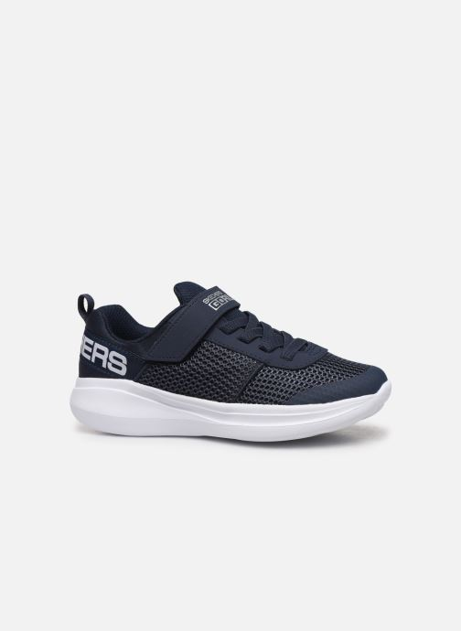 Chaussures de sport Skechers Go Run Fast Bleu vue derrière