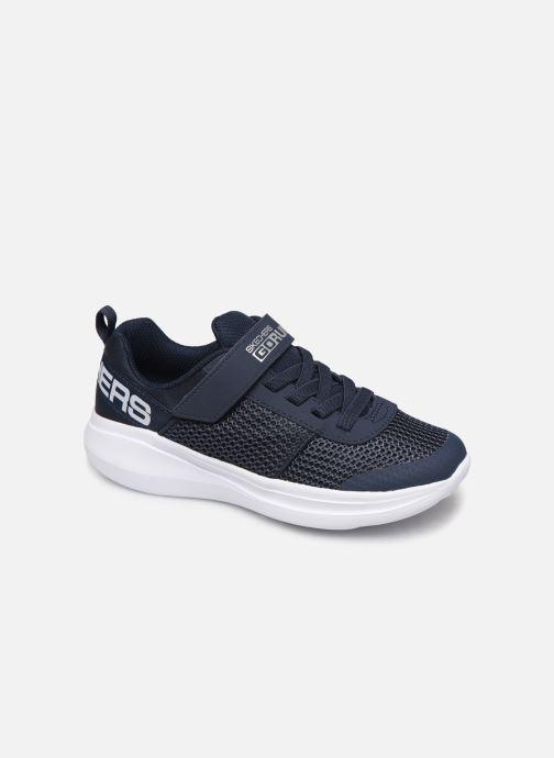 Chaussures de sport Skechers Go Run Fast Bleu vue détail/paire
