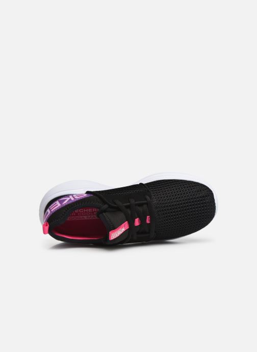 Sport shoes Skechers Go Run Fast L Black view from the left