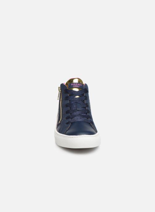 Baskets Skechers Sidestreet Bleu vue portées chaussures