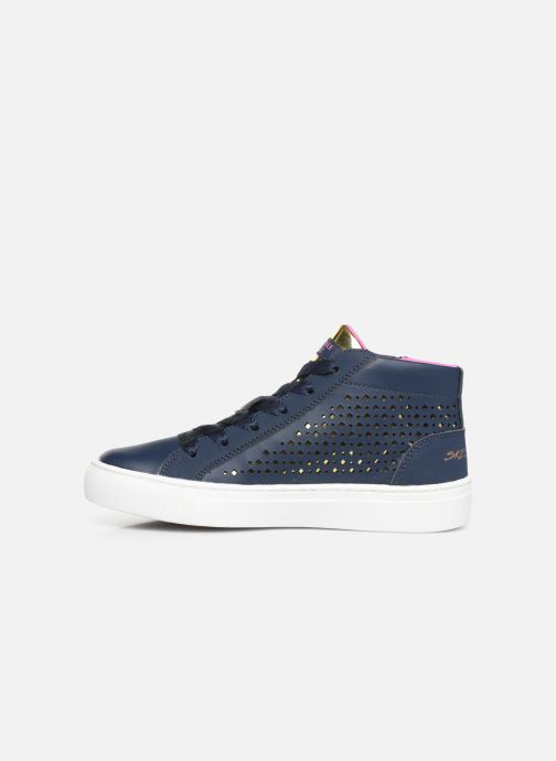 Sneakers Skechers Sidestreet Blauw voorkant