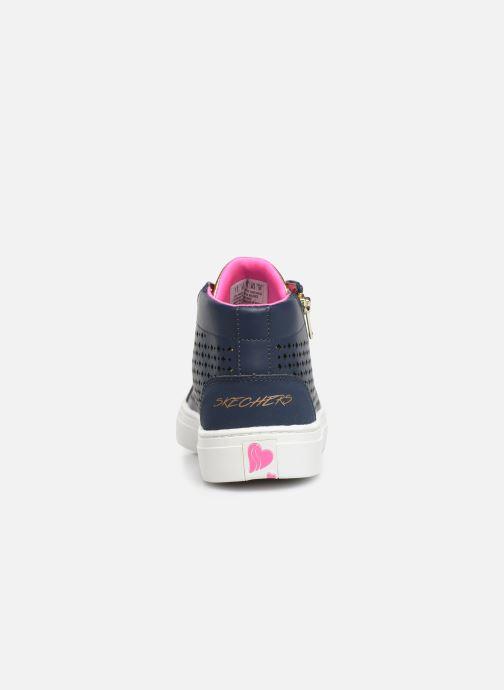 Sneakers Skechers Sidestreet Blauw rechts