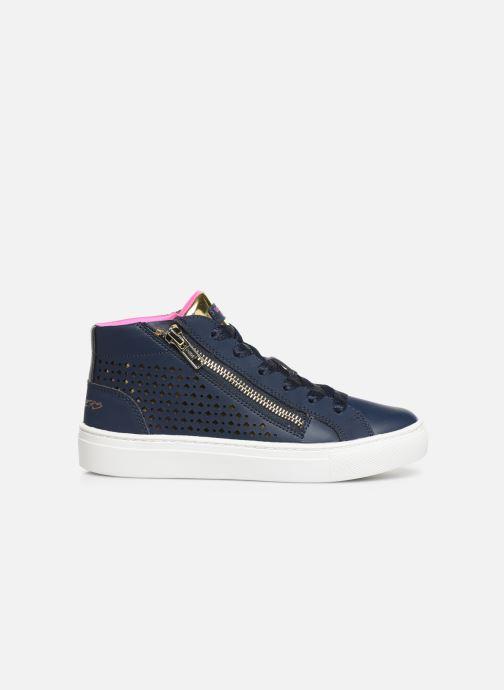 Baskets Skechers Sidestreet Bleu vue derrière