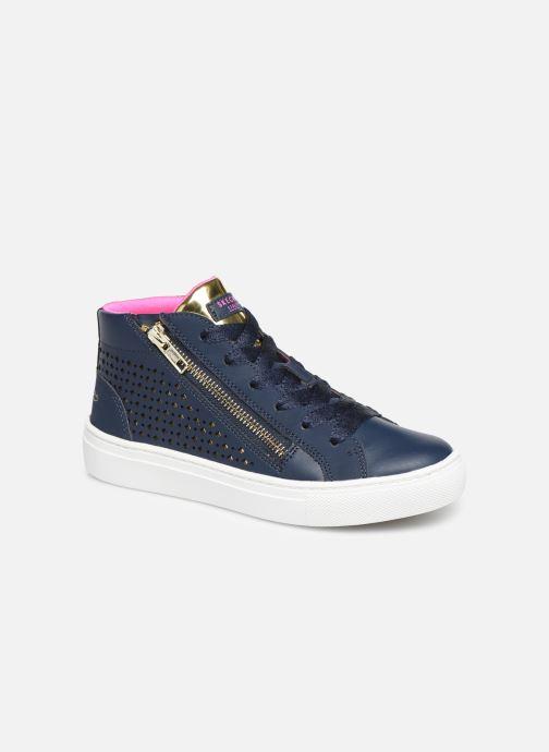 Sneakers Skechers Sidestreet Blauw detail