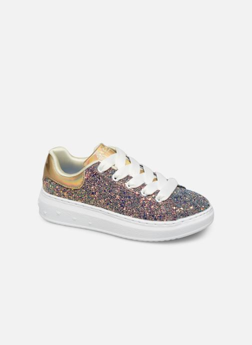 Trainers Skechers High Street Silver detailed view/ Pair view