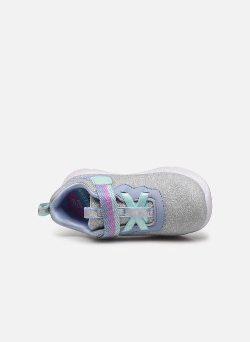 Baskets Skechers Comfy Flex 2.0 Gris vue gauche