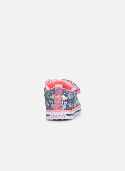Sneakers Skechers Sparkle Lite K Multicolore immagine destra