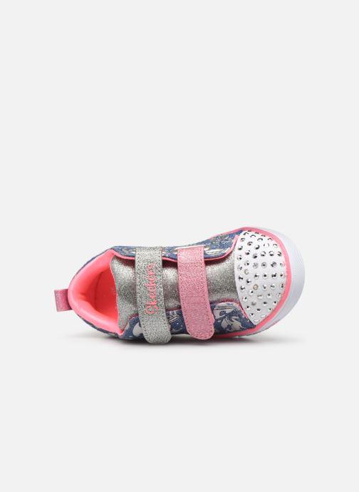 Sneakers Skechers Sparkle Lite K Multicolore immagine sinistra
