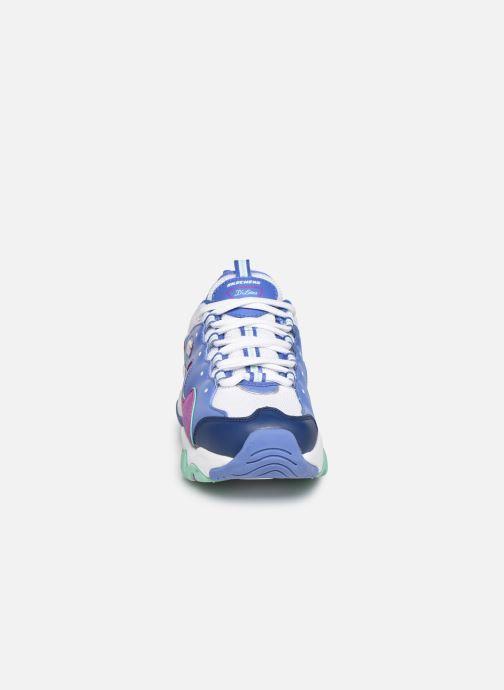 Sneakers Skechers D'Lites 3.0 Multicolore modello indossato