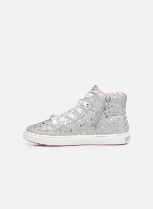 Sneaker Skechers Shoutouts Glitz grau ansicht von vorne