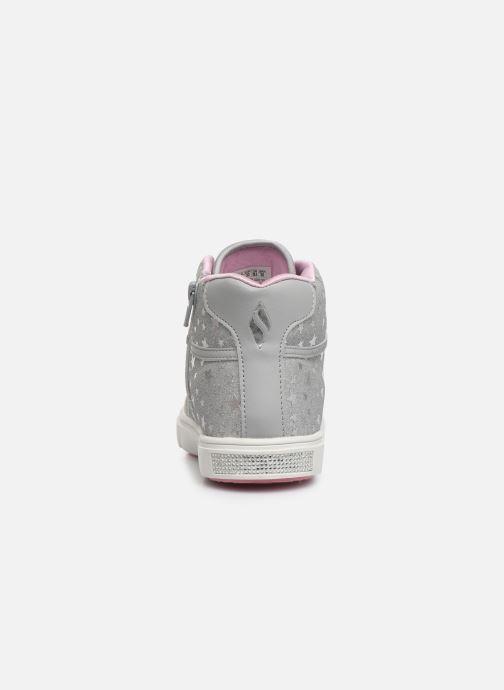 Sneaker Skechers Shoutouts Glitz grau ansicht von rechts