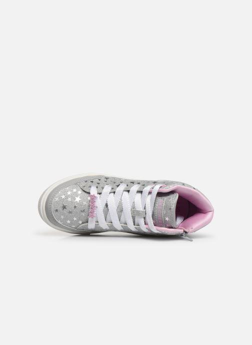 Sneaker Skechers Shoutouts Glitz grau ansicht von links