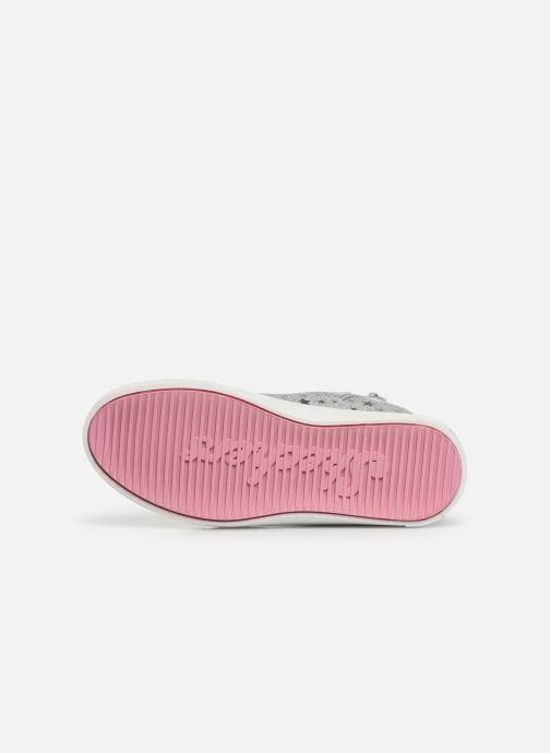 Sneaker Skechers Shoutouts Glitz grau ansicht von oben
