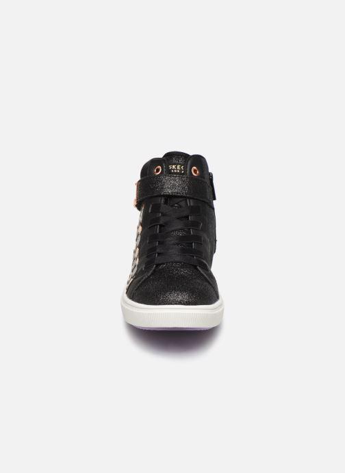 Sneaker Skechers Shoutouts Glitz schwarz schuhe getragen