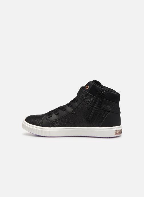Sneaker Skechers Shoutouts Glitz schwarz ansicht von vorne