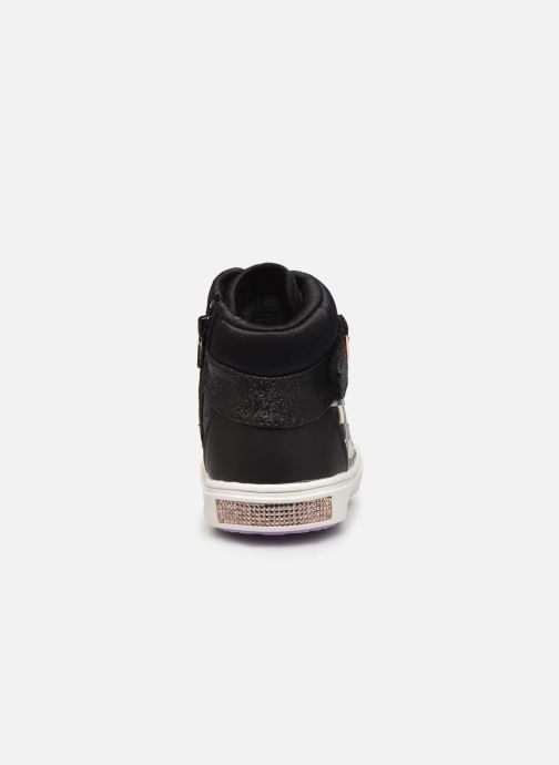 Sneaker Skechers Shoutouts Glitz schwarz ansicht von rechts