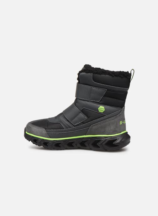 Stiefel Skechers Hypno-Flash 2.0 Street Breeze schwarz ansicht von vorne