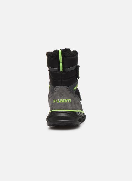 Stiefel Skechers Hypno-Flash 2.0 Street Breeze schwarz ansicht von rechts