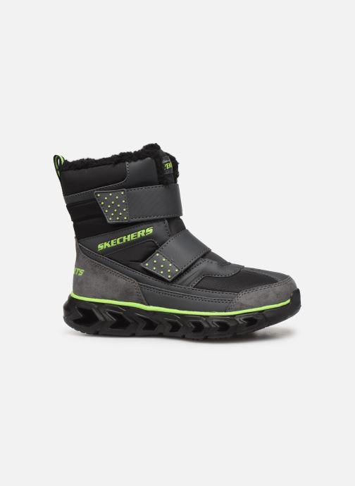 Stiefel Skechers Hypno-Flash 2.0 Street Breeze schwarz ansicht von hinten