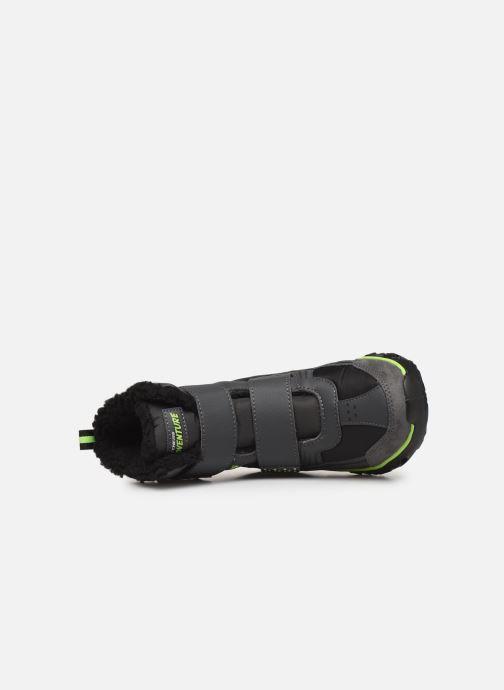 Stiefel Skechers Hypno-Flash 2.0 Street Breeze schwarz ansicht von links