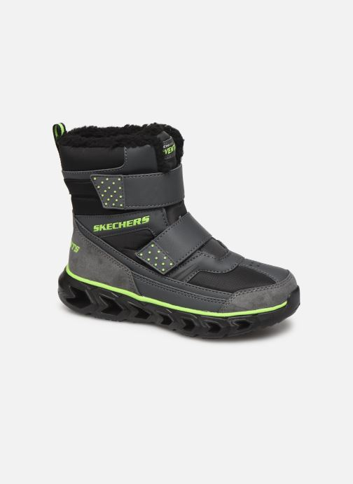 Boots & wellies Skechers Hypno-Flash 2.0 Street Breeze Black detailed view/ Pair view