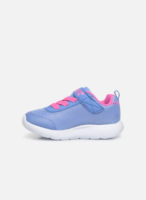 Baskets Skechers Dyna-Lights Bleu vue face