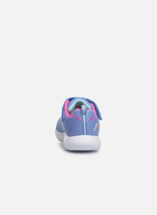 Sneakers Skechers Dyna-Lights Azzurro immagine destra
