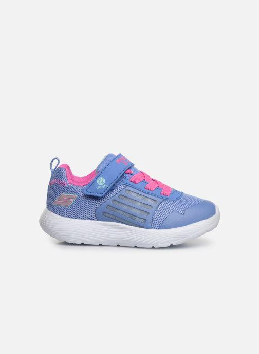 Sneakers Skechers Dyna-Lights Azzurro immagine posteriore