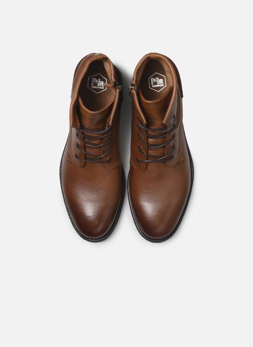Bottines et boots Mr SARENZA Papio Marron vue portées chaussures