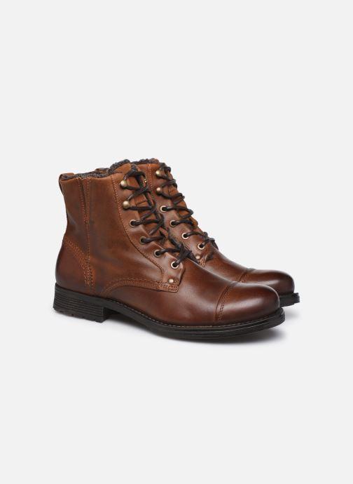 Boots en enkellaarsjes Mr SARENZA Panty Bruin achterkant