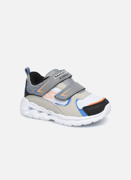 Baskets Skechers Magna-Lights Vendow Gris vue détail/paire