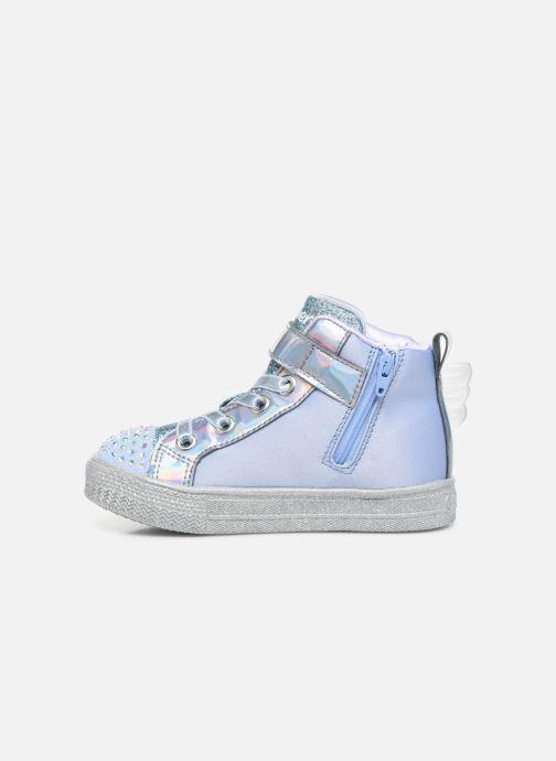 Sneaker Skechers Shuffle Lite grau ansicht von vorne