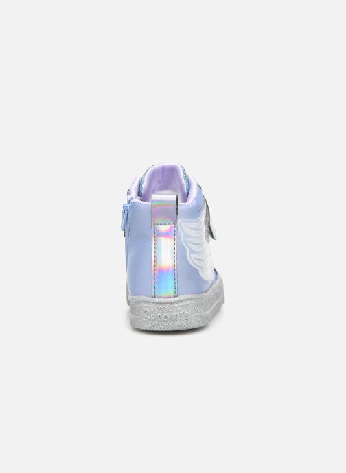 Sneaker Skechers Shuffle Lite grau ansicht von rechts