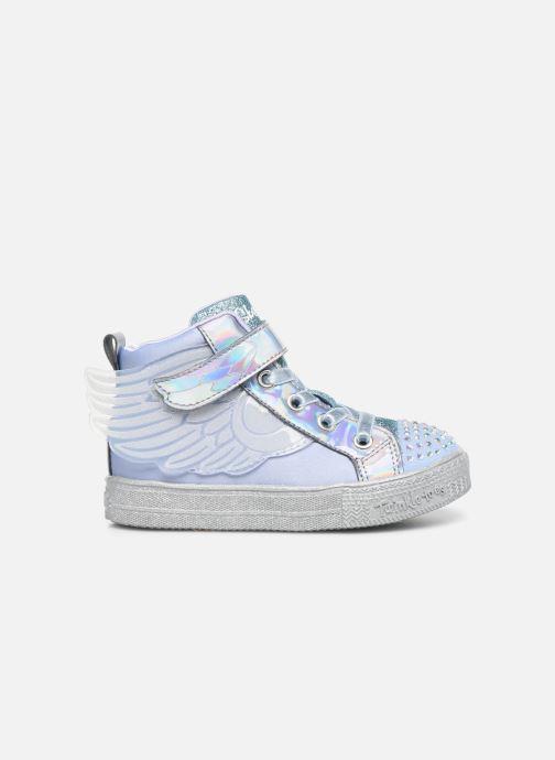 Sneaker Skechers Shuffle Lite grau ansicht von hinten
