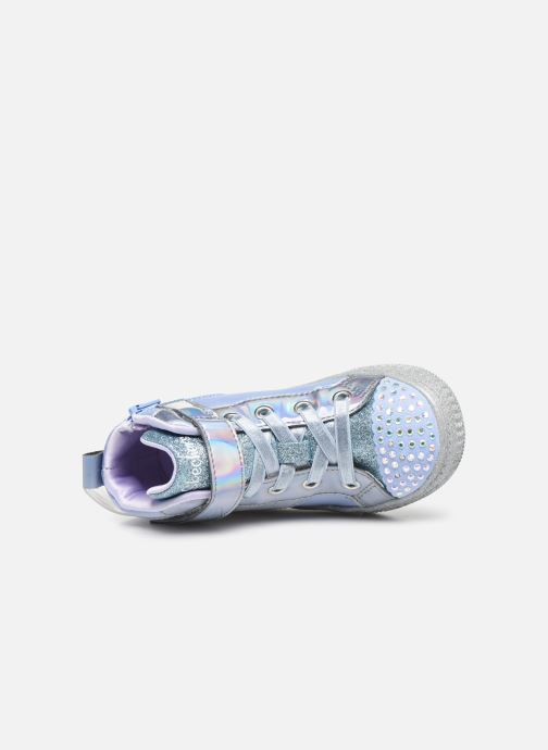 Sneaker Skechers Shuffle Lite grau ansicht von links