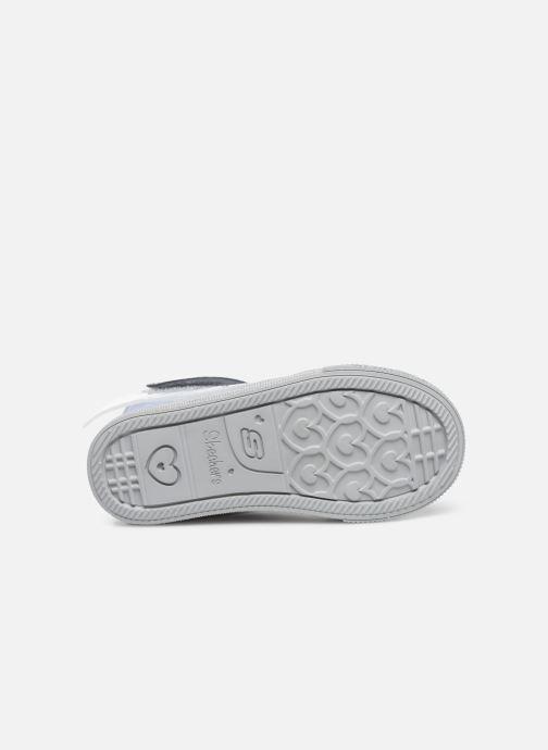 Sneaker Skechers Shuffle Lite grau ansicht von oben