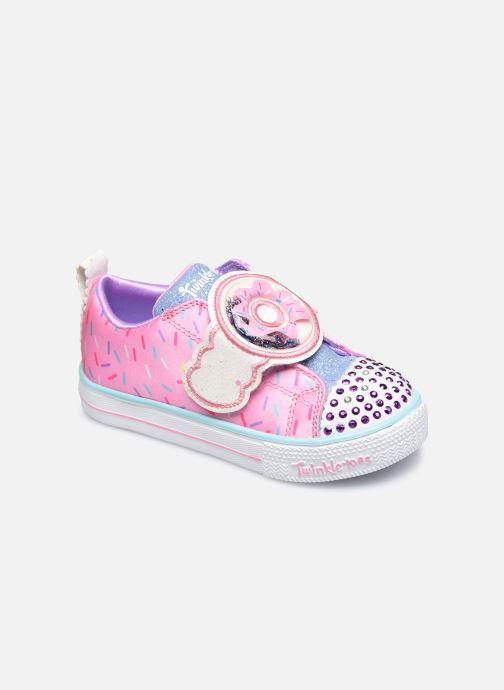 Sneakers Skechers Shuffle Lite Roze detail