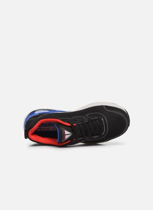Chaussures de sport Skechers Skech-Air Blast Zoorox Noir vue gauche