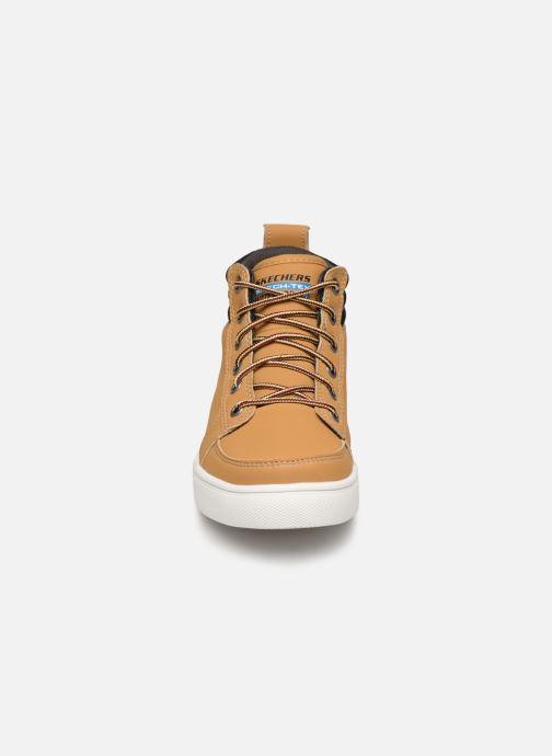 Bottines et boots Skechers City Point Marron vue portées chaussures