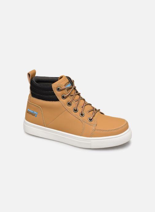 Bottines et boots Skechers City Point Marron vue détail/paire