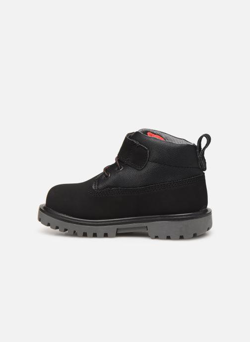 Bottines et boots Skechers Mecca Bolders S Noir vue face