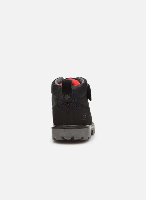 Boots en enkellaarsjes Skechers Mecca Bolders S Zwart rechts