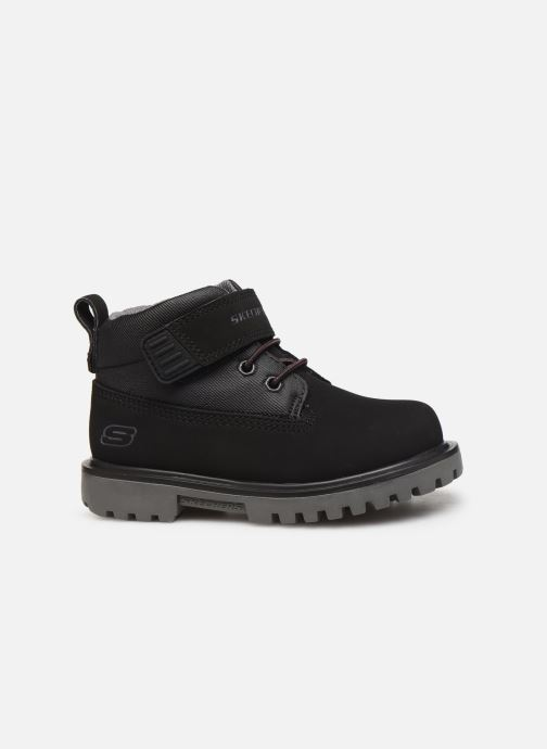 Ankle boots Skechers Mecca Bolders S Black back view