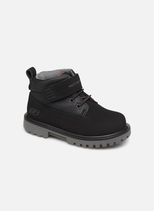 Ankle boots Skechers Mecca Bolders S Black detailed view/ Pair view