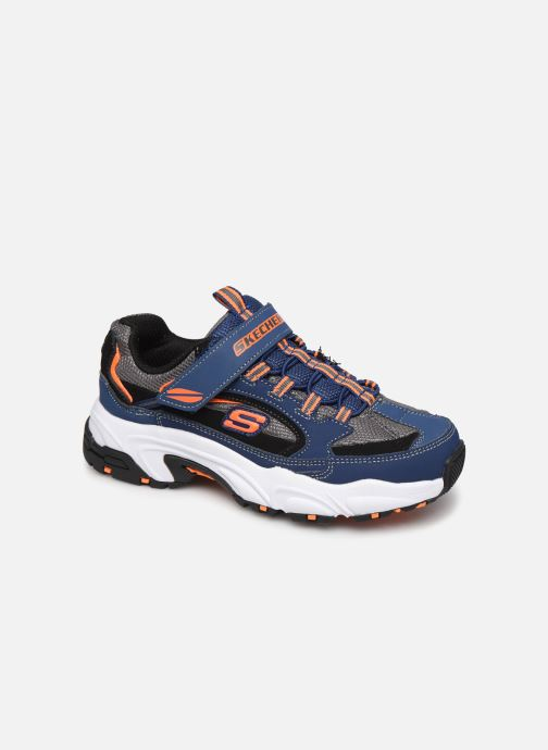 Sneakers Skechers Stamina K Blå detaljeret billede af skoene