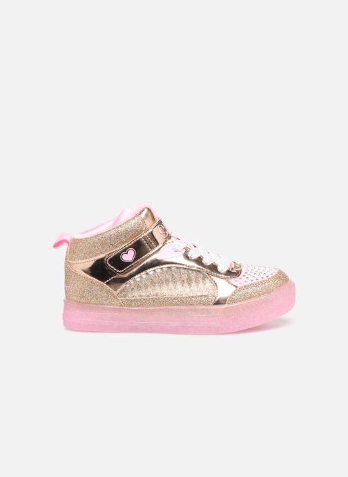 Baskets Skechers Shuffle Brights Or et bronze vue derrière