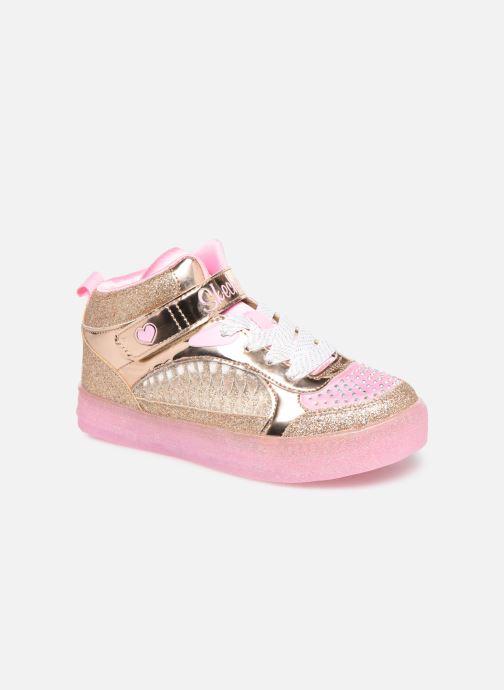 Sneakers Skechers Shuffle Brights Goud en brons detail